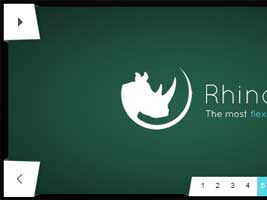 Rhinoslider - Homepage